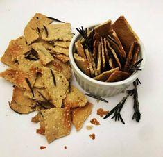 Crackers Paleo de Azeite e Gergelim