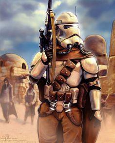 Pre-Sandtrooper by Art-deWhill