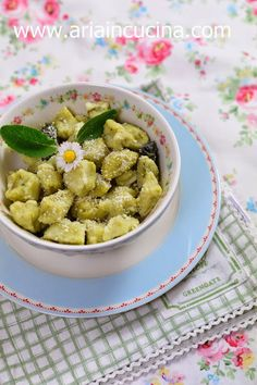 Blog di cucina di Aria: Gnocchi di ricotta e asparagi