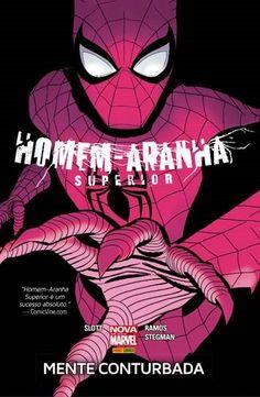 LIGA HQ - COMIC SHOP HOMEM ARANHA SUPERIOR MENTE CONTURBADA - Homem-Aranha - Marvel PARA OS NOSSOS HERÓIS NÃO HÁ DISTÂNCIA!!!