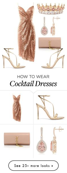 """Untitled #99"" by lina-56 on Polyvore featuring Gianvito Rossi and Yves Saint Laurent"