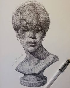 Fabulous Drawing On Creativity Ideas. Captivating Drawing On Creativity Ideas. Spring Art, Pen Art, Drawings, Insta Art, Bts Drawings, Drawing Illustrations, Illustration Art, Art, Ballpoint Pen Art