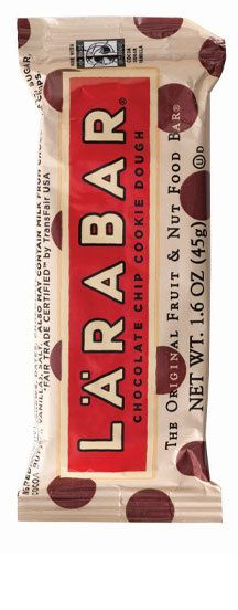 Larabars!  Love these...you must love dates as that is the basis for these bars but they are only a few ingredients and all natural fruit and nut bars.