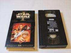 Star Wars Episode I: The Phantom Menace VHS tape digitally mastered movie