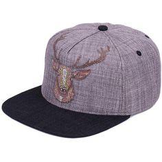 031d675d807 Vintage Deer Printing Baseball Cap. Baseball HelmetBaseball CapsRap CapQuality  StreetStylish ...