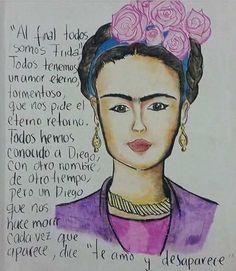 Al final todos tenemos un Diego como Frida Kahlo