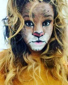 Maquiagem artística - Leão #makeup #lion