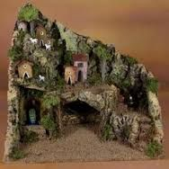 Resultado de imagen para pinterest+presepi Christmas Crib Ideas, Christmas Nativity Set, Christmas Makes, Christmas Villages, Winter Christmas, Christmas Decorations, Xmas, Medieval Houses, Miniature Fairy Gardens