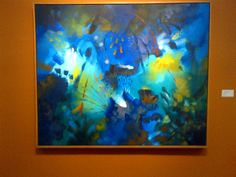 caídas de agua en curiyacu Aquarium, Painting, Exhibitions, Colors, Aquarius, Fish Tank, Painting Art, Paintings, Paint