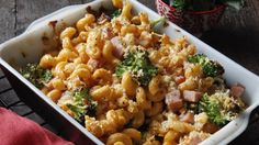 Cheesy Ham and Cheddar Broccoli Pasta Entree Recipes, Pasta Recipes, Dinner Recipes, Cooking Recipes, Broccoli Pasta Bake, Chicken Broccoli, Broccoli Cheddar, Leftovers Recipes, Pasta Dishes