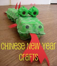Celebrating Chinese New Year with your kids: dragon craft, Chinese food, Chinese lantern decorations, literacy ideas.