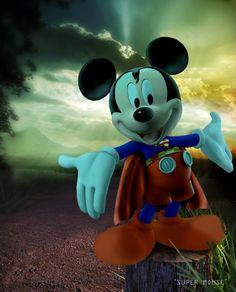 Supermouse: Mickey by lavrennom.deviantart.com on @deviantART