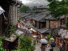 The Kyoto rainy Ninenzaka by A-GARAGE picture, via 500px