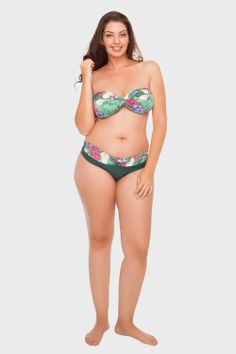 97e607c87 As 116 melhores imagens em Swimwear Plus Size | One Piece Swimsuit ...