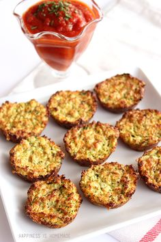 "These zucchini bites are quick and simple to make. They're a great snack for picky kids who will happily munch on ""zucchini tots."" Serve with marinara sauce for dipping. Delicious lunch, dinner side dish or appetizer. You really can't go wrong with these!"