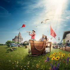 Liverpool One on Behance