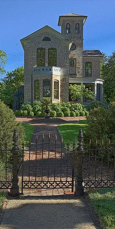 Tower Grove Park, in Saint Louis, Missouri, USA - Superintendent's house