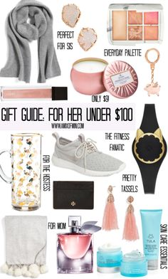 holiday gift guide for her under 100