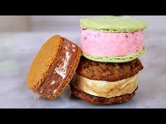 Homemade Ice Cream Sandwiches (Cookies + No Machine Ice Cream) Recipe - Bigger Bolder Baking Ep 24 - YouTube