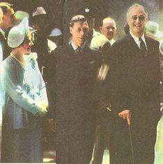 King George VI and his wife Queen Elizabeth 1 pose with President Roosevelt at Hyde Park in He was the first British monarch to enter the United States. Queen Mother, Queen Mary, King Queen, Lady Elizabeth, Princess Elizabeth, Emperor Of India, President Roosevelt, Franklin Roosevelt, Princesses