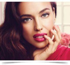 O segredo de Irina Shayk para lábios irresistíveis