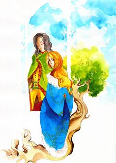 Faramir and Eowyn by faQy on deviantART