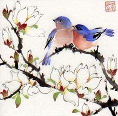 Jinghua Gao Dalia - Brush Magic- Over 3 decades of Chinese watercolor brush painting experience
