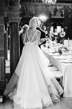 Dori Gown by Hayley Paige___Branford House Wedding captured by Justin and Mary