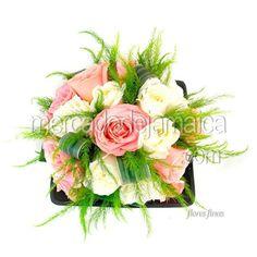 centros-mesa-rosas-blancas