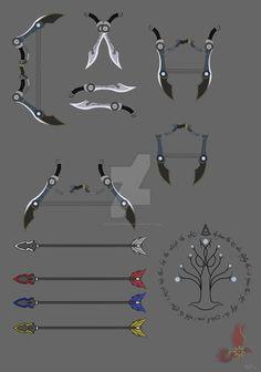 RWBY OC- Mor'Loki Odysseus' weapon. by ShadeofGrimm.deviantart.com on @DeviantArt