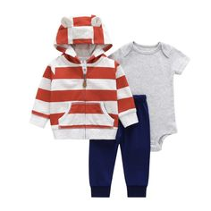 46cfe4dd3f95 Pocket Hoodies Winter Jacket Pants Cotton Kids Rompers Suits One Set Full  Size Children Clothing Suits Baby Boys Rompers Baby Girls Pants Baby Boys  Hoodies ...