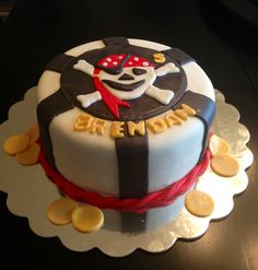 Pirate Birthday Cake.