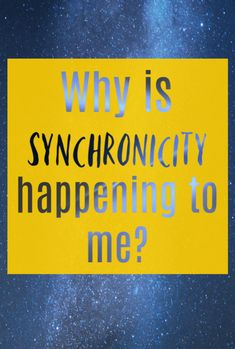 Why is synchronicity happening to me? If you are finding coincidences and symbols keep cropping up and want to know the meaning behind them then synchronicity is important to consider in your life What Do You Feel, How Are You Feeling, What Is Synchronicity, Just Keep Going, You Are Important, Secret To Success, Self Awareness, Spirit Guides, Coincidences