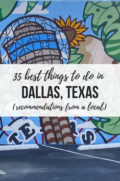 Looking for fun in the Big D? These 35 awesome things to do in Dallas are curated by a local with more than 20 years' experience in the city. From quirky activities to the best neighborhoods to local tips, this is a guide you don't want to miss. Dallas Travel, Texas Travel, Canada Travel, Travel Usa, Solo Travel, Nevada, New Orleans, Utah, New York City