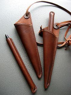 オリジナル革製品Aging(エイジング)| pendre-pen