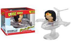 Dorbz Ridez - Wonder Woman in Invisible Jet #dorbzridez #wonderwoman #figur #elementarstore