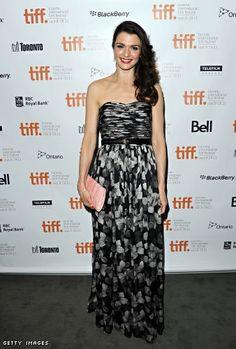 """Rachel Weisz style   Star Style, Rachel Weisz in Jason Wu At """"The Deep Blue Sea ..."""