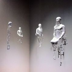 mobile sculptures by jaume plensa
