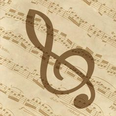 BG. Studio - Music - Treble Clef - art prints and posters