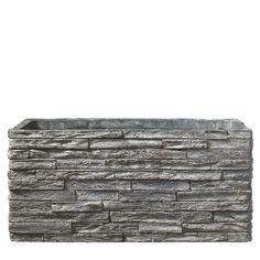 Latina Stonewall Rectangle - Γκρι Cement, Latina, Canning, Wood, Woodwind Instrument, Timber Wood, Trees, Home Canning, Conservation
