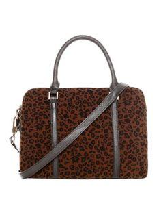 leopard bowling bag