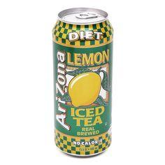 """Thé glacé au citron version """"light"""" À base de feuilles de thé noir, vert ou blancs, 100% naturelle, sans saveur artificielle colorant ni conservateur, cette boisson est aussi saine que rafraichissante :"""