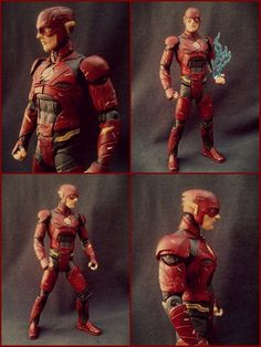 The Flash - Justice League Movie - Ezra Miller - 7 Inch (Justice League) Custom Action Figure
