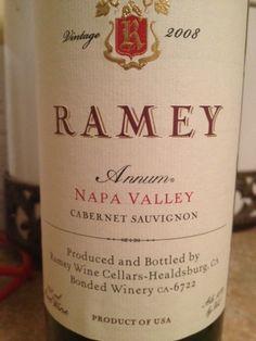 lovely wine by David Ramey