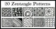 How to Make a Zentangle. A Zentangle drawing is an abstract drawing created using repetitive patterns according to the trademarked Zentangle Method.True Zentangle drawings are always created on square tiles, and they are always done in. Zentangle Drawings, Doodle Drawings, Easy Drawings, Zentangles, Mandala Drawing, Easy Zentangle Patterns, Doodle Patterns, Mandala Pattern, Easy Patterns