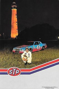 NASCAR 1984 Richard Petty #43 STP Racing Grand National Postcard