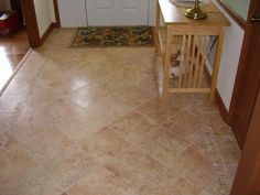 tiled foyer designs foyer picture | Picture: Tiled Foyer.JPG provided by Swift Creek Home Improvements Inc ...