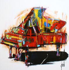 David Jamin, Piano à queue