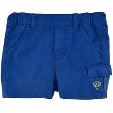 Tartine et Chocolat - Cotton poplin shorts - Ultramarine - 107068