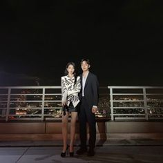 Image may contain: one or more people, people standing, sky and outdoor Korean Couple, Best Couple, Korean Celebrities, Korean Actors, Luna Fashion, Women's Fashion, Bride Of The Water God, Jin Goo, Kim Go Eun